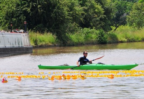 Duck race near Nantwich raises £2,500 for St Luke's Hospice