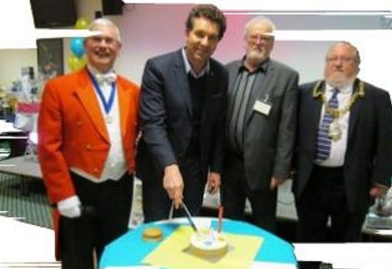 edward timpson at U3A's 21st birthday fundraiser
