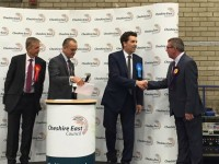 "Edward Timpson ""relieved"" after winning Crewe & Nantwich seat"