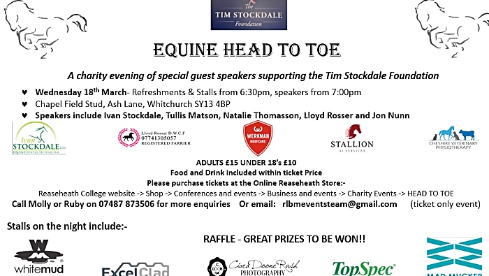 equine head to toe event