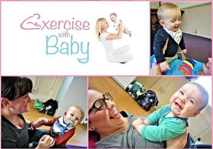 exercise with baby classes in Nantwich