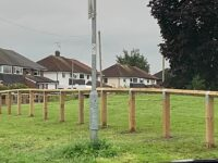 "Barony Park fence part of ""green space masterplan"", says council chief"