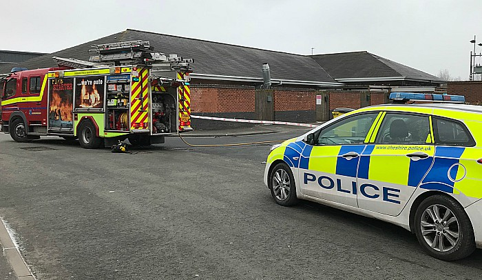 fire and police cronkinson pub