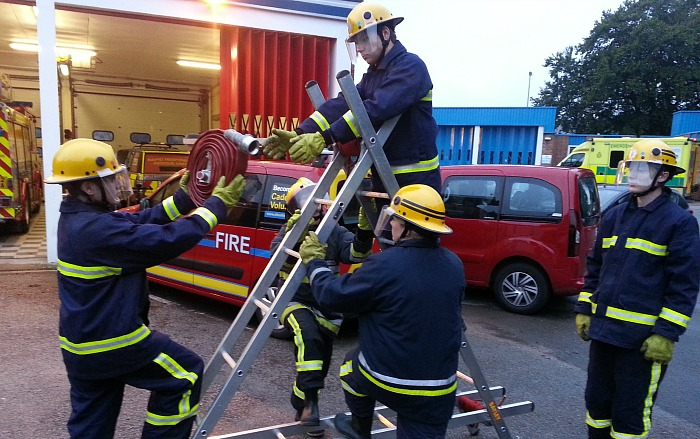 fire cadet scheme, volunteers needed in Nantwich