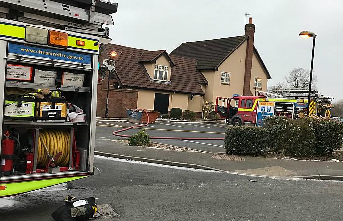 fire crews cronkinson pub