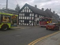 Gas leak scare for the Cheshire Cat in Nantwich