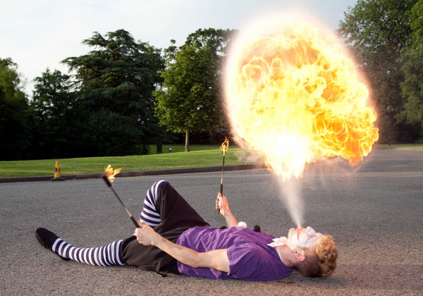 fire eaters to perform at Nantwich Food Festival