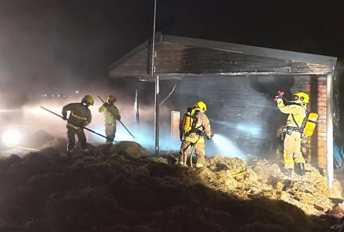 fire in stable in willaston