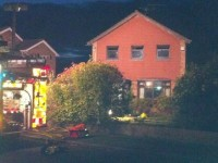 Man and woman rescued from Nantwich house fire