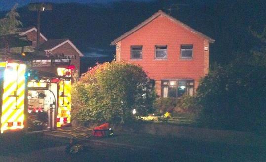 fire on Western Avenue, Nantwich