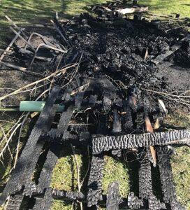 fire on brookfield park