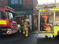 Fire crews battle blaze in Welsh Row restaurant in Nantwich