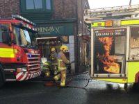 Fire crews battle blaze in Welsh Row restaurant in Nantwich