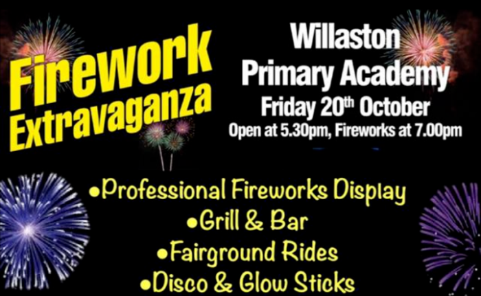 firework willaston academy