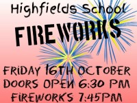 Highfields School in Nantwich to stage Fireworks and Fun night