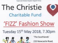 Nantwich Christie Hospital Support Group to stage fund-raising Fizz Fashion Show