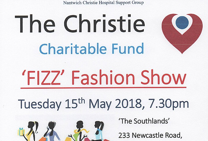 fizz fashion show in aid of Christie Hospital