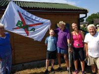 Weaver Primary youngsters fly the flag for Nantwich allotments