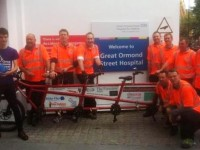 Tarporley fireman among team to ride 220 miles for charities