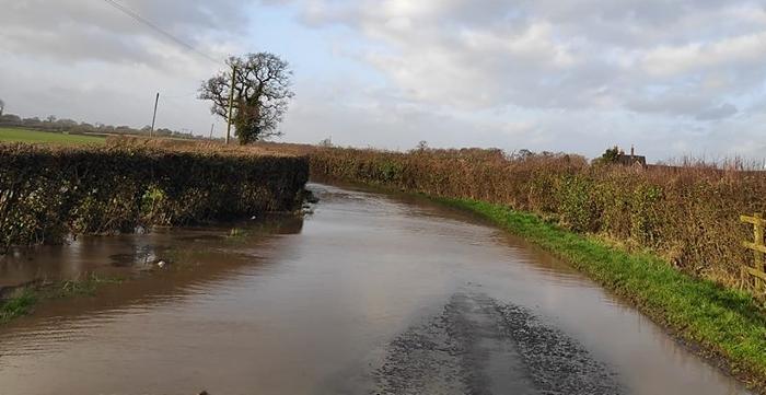flooding at welshmans lane