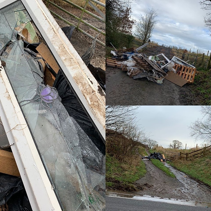 fly tippers - pic by Nantwich Police