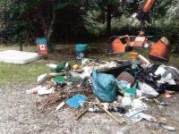 Anger as fly-tippers dump this at Nantwich riverside beauty spot
