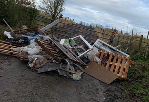 Just two fly-tipping fines issued by Cheshire East in 2019-20