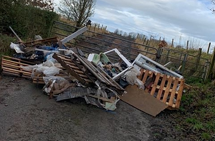 fly-tippers nantwich