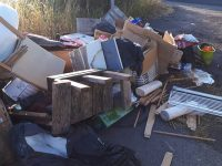 Fly-tippers block Nantwich to Crewe Greenway