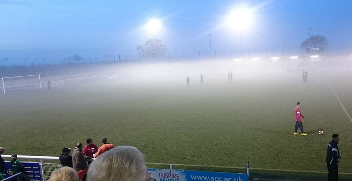 fog causes Nantwich Town v Frickley to be abandoned at 0-0 in second half