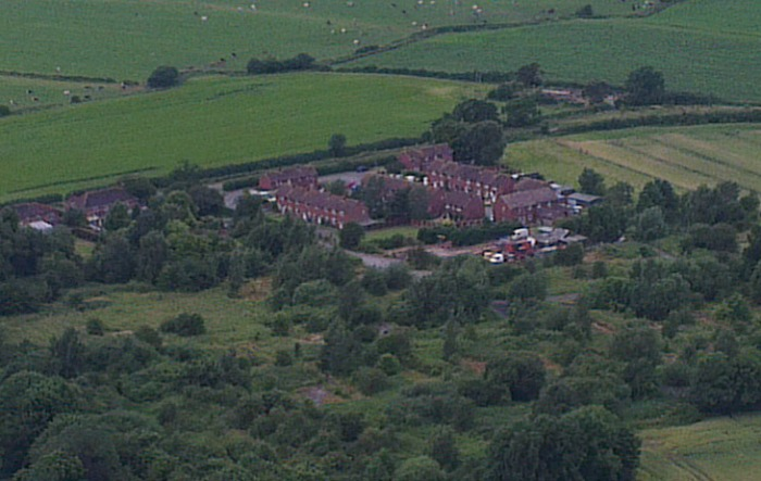 former RAF site at hack green