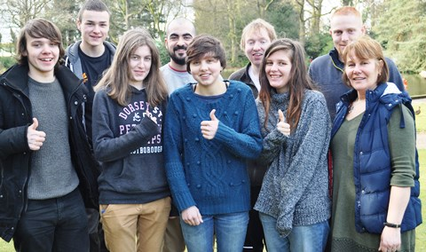 Eight Nantwich-based students secure wildlife placements in Europe