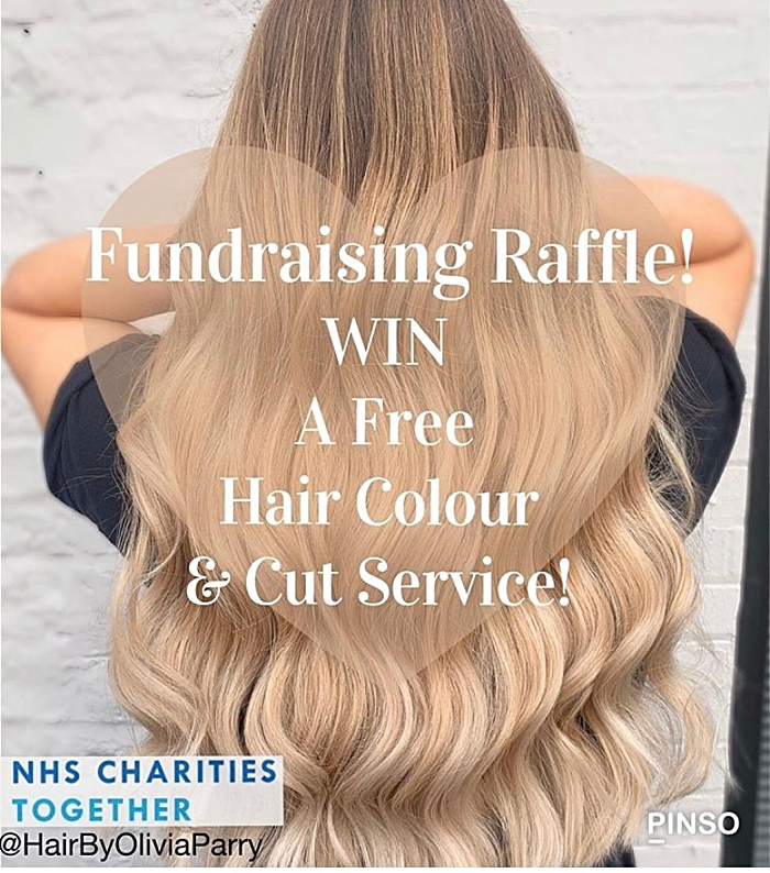 fundraising raffle by Olivia Parry