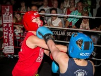 White collar boxing in Nantwich raises thousands