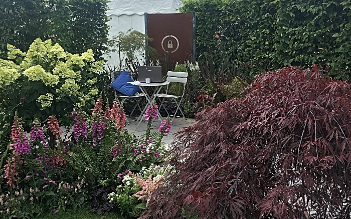 garden - RHS flower show Tatton Park by reaseheath students