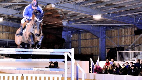 Equestrian stars entertain hundreds at Nantwich horse show