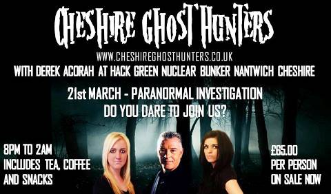 Ghost hunters invite public to Hack Green bunker investigation in Nantwich