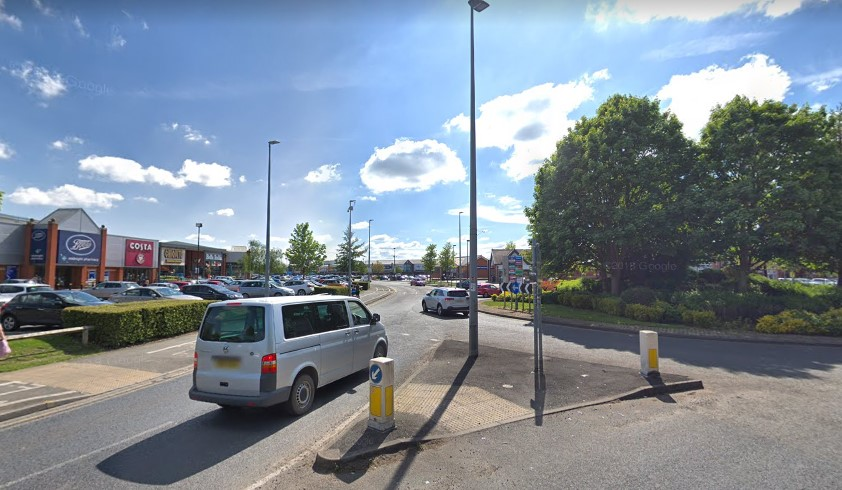 grand junction retail park - google street view