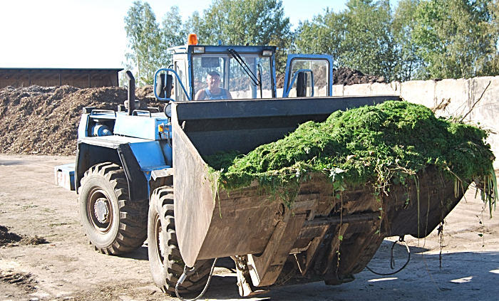 green waste plant, pic under free licence by Steffen Thomä