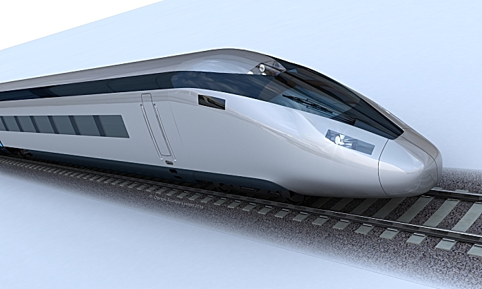 high speed train HS2 - phase 2b