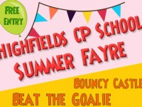 Highfields Community Primary to stage summer fayre