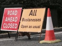 Cheshire East Council blames drainage workers for road sign blunder