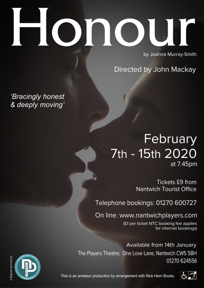 Honour - poster for Players production