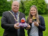 Duck race sends Nantwich folk quackers as £1,800 raised for Hope House
