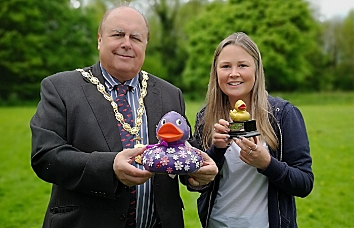 hope house duck race winner