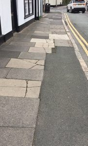 hospital street cracked slabs and repairs