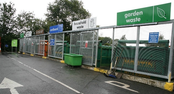 household waste recycling centres Cheshire East Council