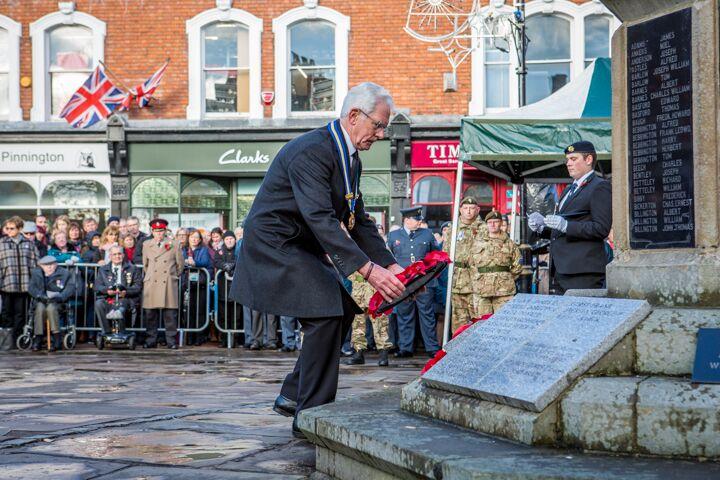 Armistice centenary in Nantwich 4
