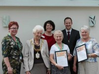 South Cheshire Macmillan Cancer Unit volunteers honoured
