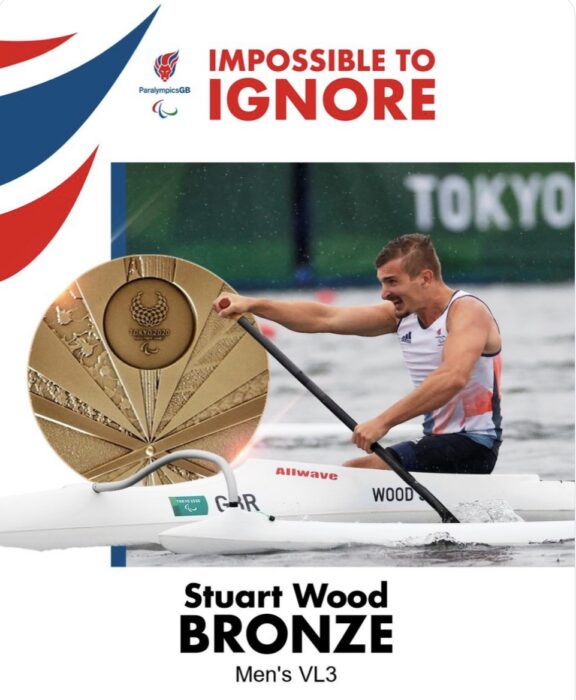 Stuart Wood - bronze medal